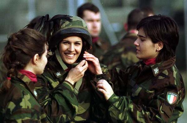 Знакомство с военными женщинами