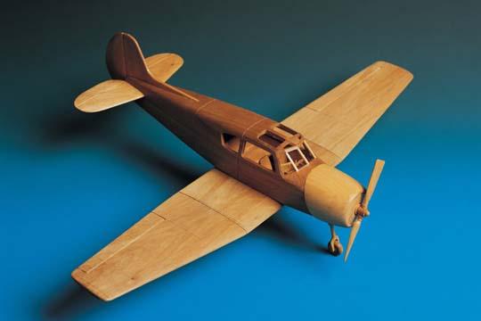 Как сделать деревянный самолёт