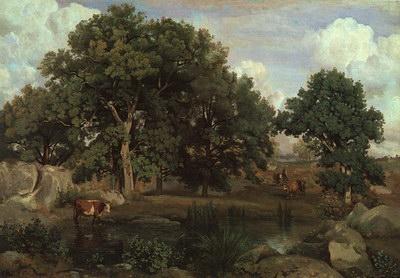 Художники :: Живопись, Jean-Baptiste-Camille Corot фото 4
