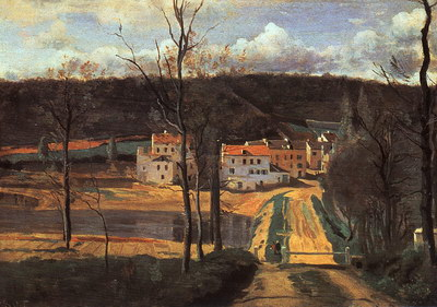 Художники :: Живопись, Jean-Baptiste-Camille Corot фото 5