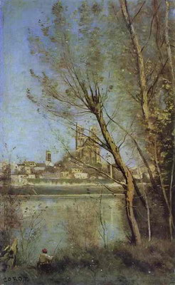 Художники :: Живопись, Jean-Baptiste-Camille Corot фото 10