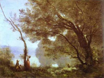 Художники :: Живопись, Jean-Baptiste-Camille Corot фото 11
