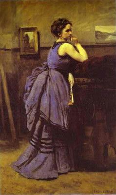 Художники :: Живопись, Jean-Baptiste-Camille Corot фото 13