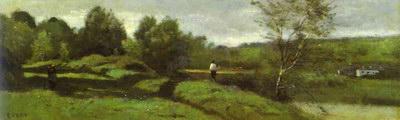 Художники :: Живопись, Jean-Baptiste-Camille Corot фото 14