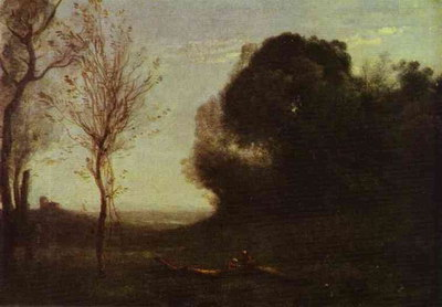 Художники :: Живопись, Jean-Baptiste-Camille Corot фото 17