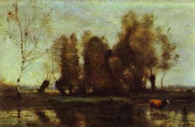 Художники :: Живопись, Jean-Baptiste-Camille Corot фото 18