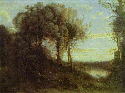 Художники :: Живопись, Jean-Baptiste-Camille Corot фото 19
