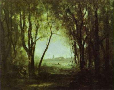 Художники :: Живопись, Jean-Baptiste-Camille Corot фото 20