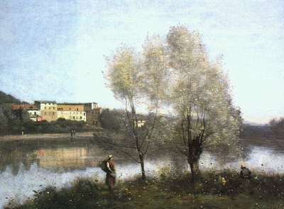 Художники :: Живопись, Jean-Baptiste-Camille Corot фото 23