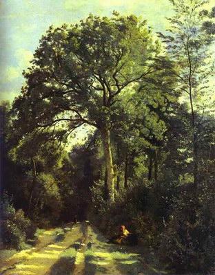 Художники :: Живопись, Jean-Baptiste-Camille Corot фото 26