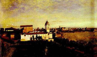 Художники :: Живопись, Jean-Baptiste-Camille Corot фото 29