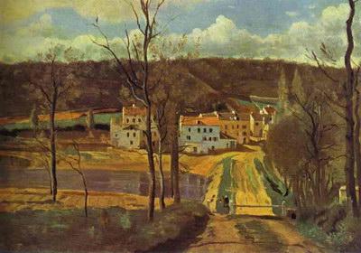 Художники :: Живопись, Jean-Baptiste-Camille Corot фото 33