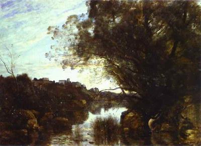 Художники :: Живопись, Jean-Baptiste-Camille Corot фото 39
