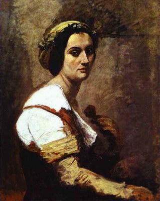 Художники :: Живопись, Jean-Baptiste-Camille Corot фото 40