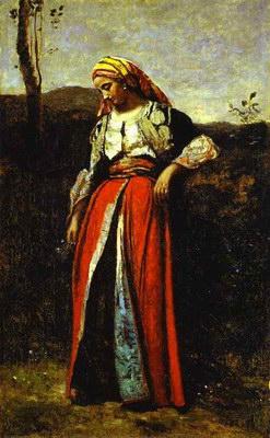 Художники :: Живопись, Jean-Baptiste-Camille Corot фото 41