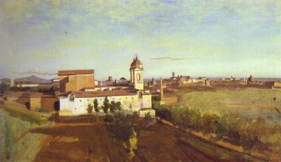 Художники :: Живопись, Jean-Baptiste-Camille Corot фото 47