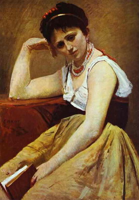 Художники :: Живопись, Jean-Baptiste-Camille Corot фото 51