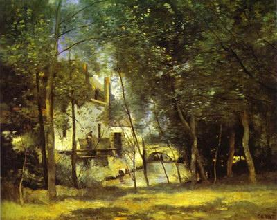 Художники :: Живопись, Jean-Baptiste-Camille Corot фото 52