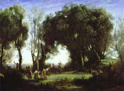 Художники :: Живопись, Jean-Baptiste-Camille Corot фото 53