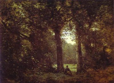 Художники :: Живопись, Jean-Baptiste-Camille Corot фото 54