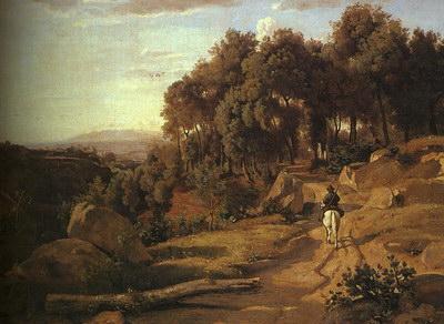 Художники :: Живопись, Jean-Baptiste-Camille Corot фото 56