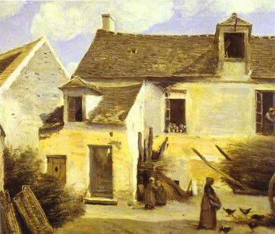Художники :: Живопись, Jean-Baptiste-Camille Corot фото 58
