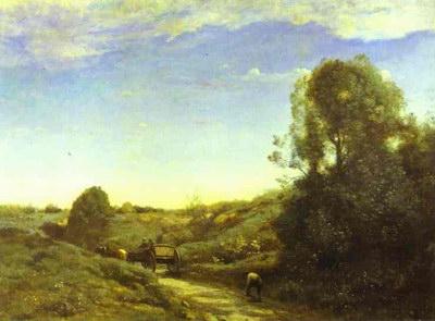 Художники :: Живопись, Jean-Baptiste-Camille Corot фото 60