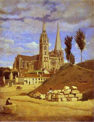 Художники :: Живопись, Jean-Baptiste-Camille Corot фото 61