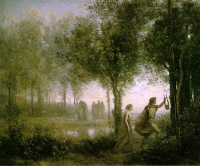 Художники :: Живопись, Jean-Baptiste-Camille Corot фото 64
