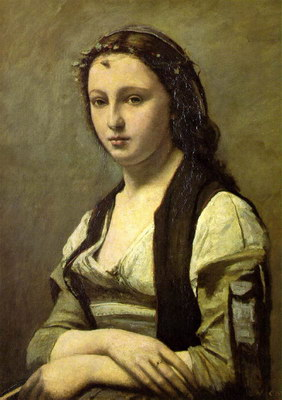 Художники :: Живопись, Jean-Baptiste-Camille Corot фото 65