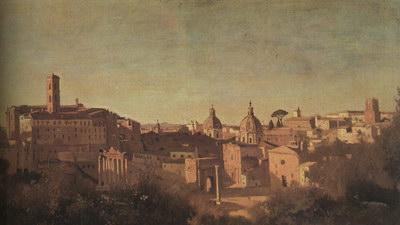 Художники :: Живопись, Jean-Baptiste-Camille Corot фото 66