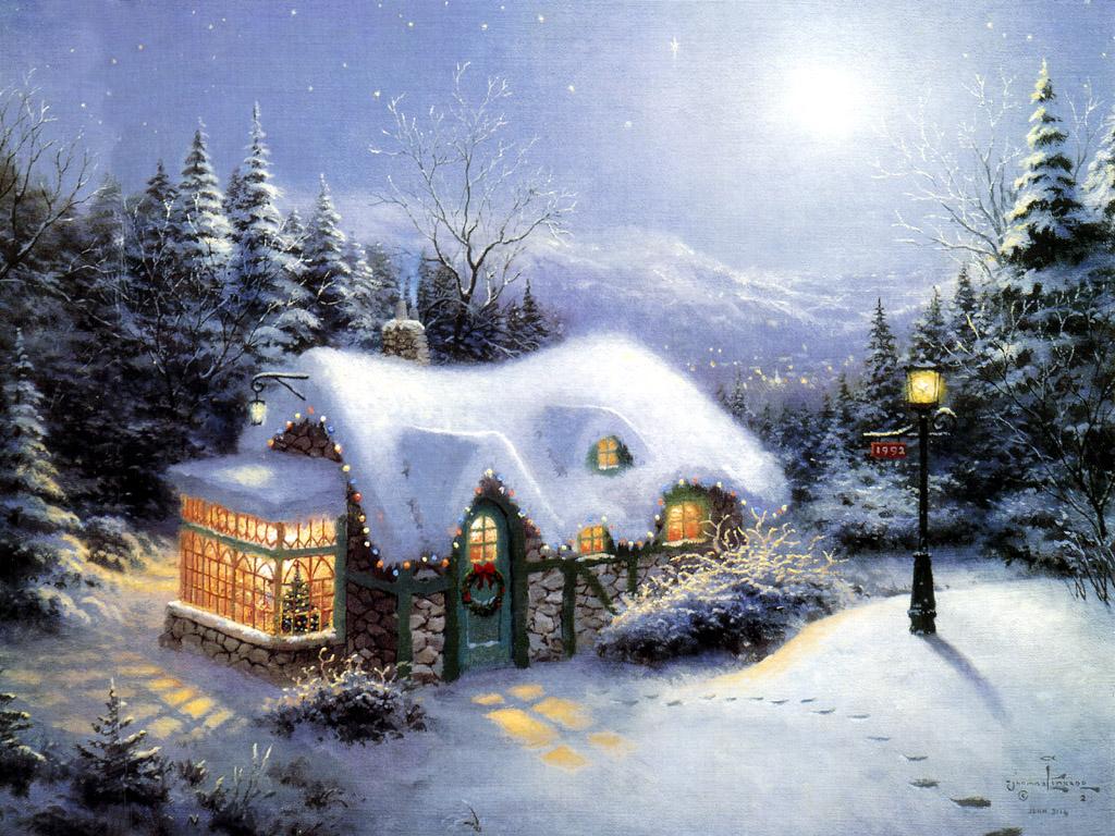 Хорошего дня, зима картинки и анимации