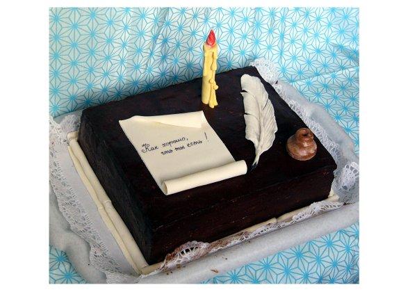 Сделать торт своими руками для мужа