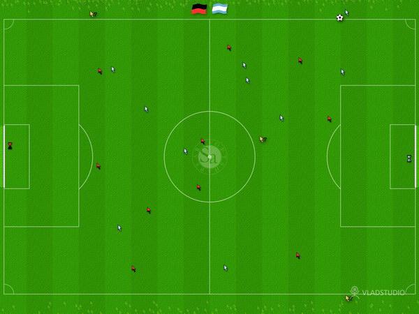 Обои футбольное поле картинка поле