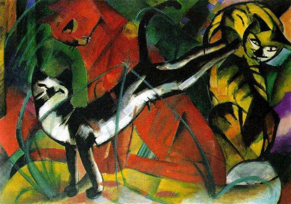 Franz Marc - Horses - Cosmopolis Biography and review of the Horses...
