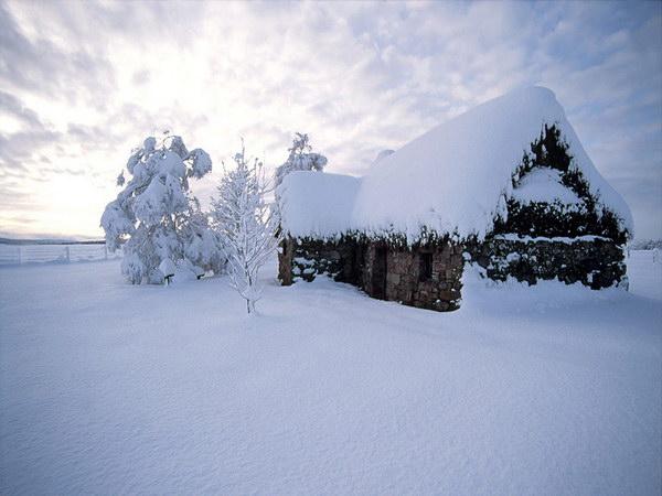 Фотографии природы :: Красивые зимние пейзажи фото 34