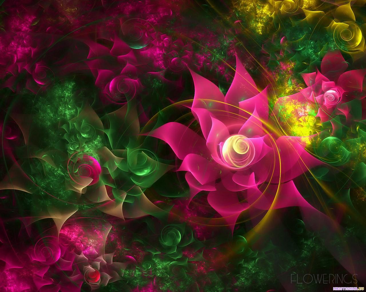 Картинки нарисовать, цветы в картинках фэнтези