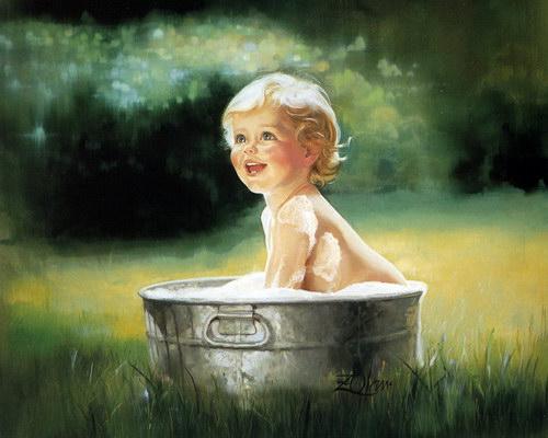 Дети :: Художник Donald Zolan фото 15