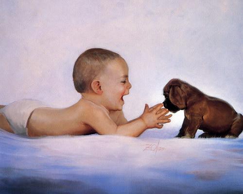 Дети :: Художник Donald Zolan фото 18