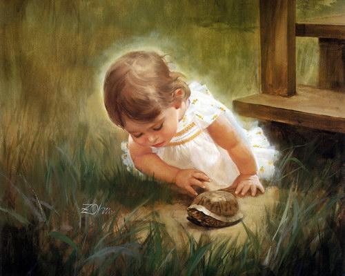 Дети :: Художник Donald Zolan фото 22
