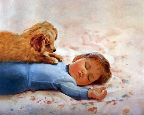 Дети :: Художник Donald Zolan фото 24