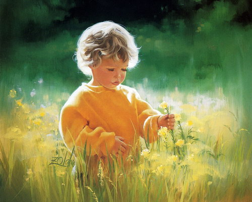 Дети :: Художник Donald Zolan фото 26