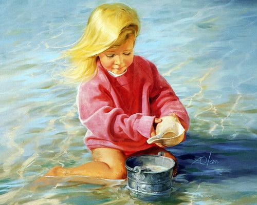 Дети :: Художник Donald Zolan фото 35