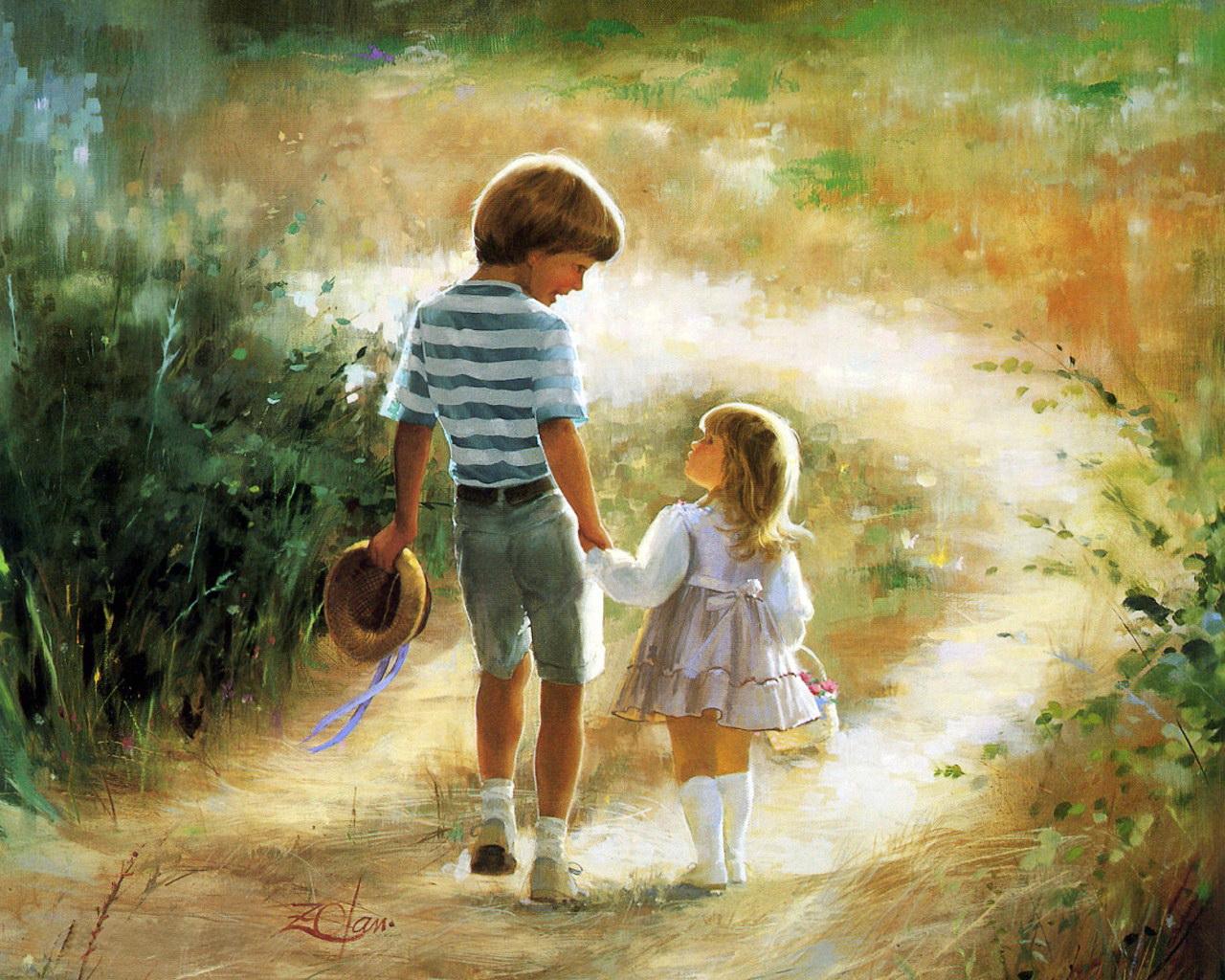 Картинки про доброту красивые для детей