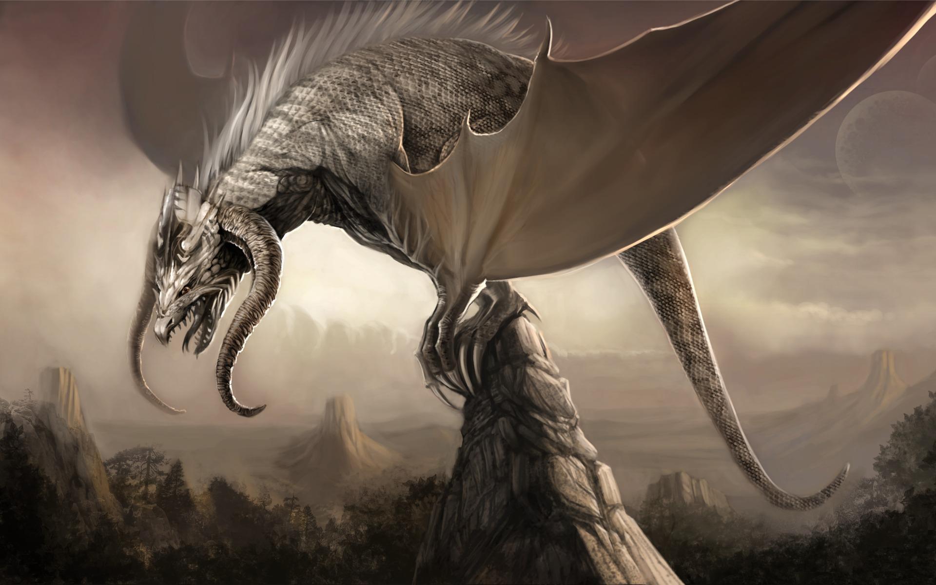 Basik ru обои на рабочий стол драконы
