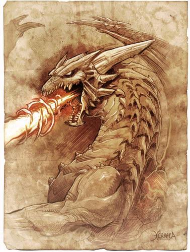 Обои на рабочий стол драконы на