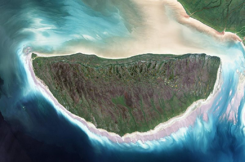 Земля со спутника :: фотография 1