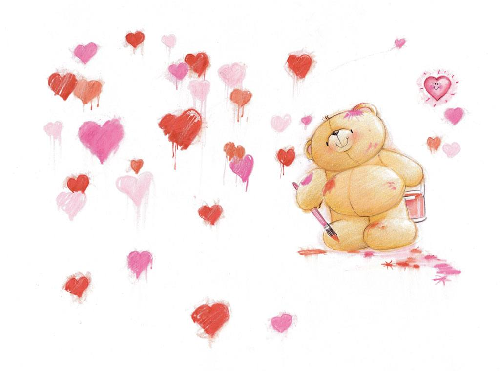 Веселые картинки :: Открытки с мишками ...: basik.ru/funny_pictures/forever_friends/14_forever_friends