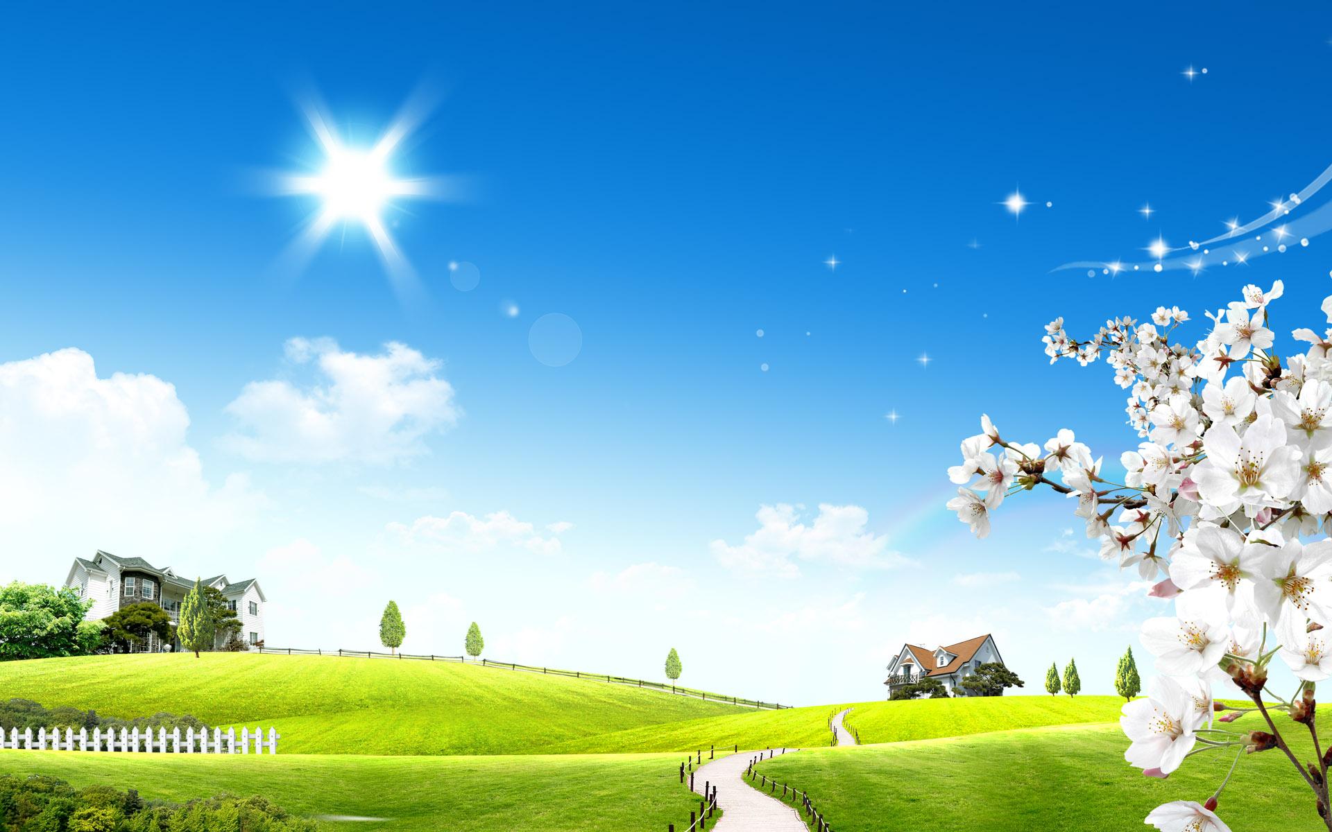 красивые картинки яркие солнечные весна также
