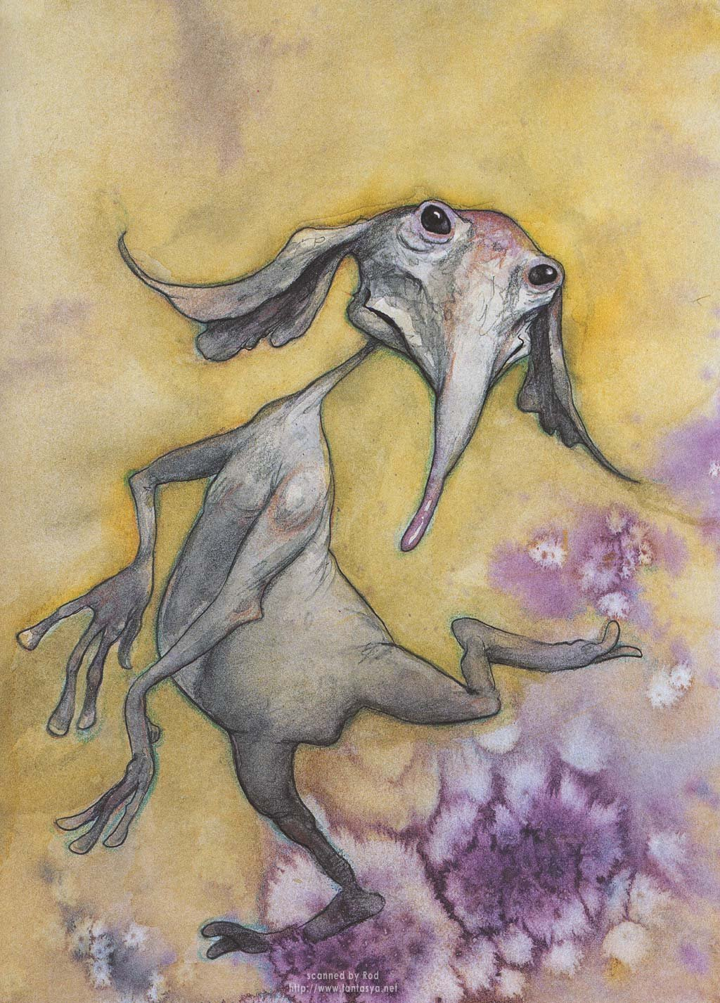 Апреля, рисунок необычные животные